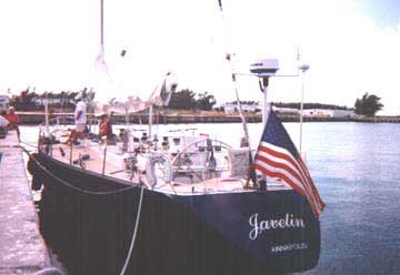 Docked at Truman Annex in Key West